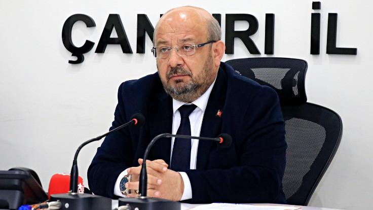 AK Parti Çankırı İl Başkanı istifa etti