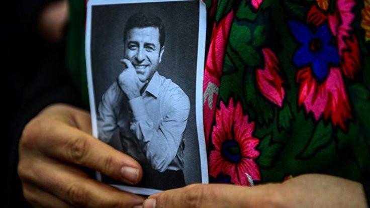 Demirtaş fotoğrafı için hücre cezası