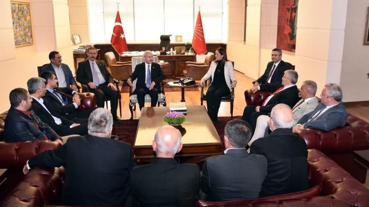 DİSK heyeti, Kılıçdaroğlu'nu ziyaret etti