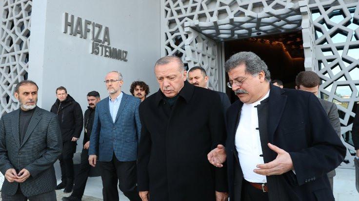 Erdoğan, 15 Temmuz Müzesi'ni ziyaret etti
