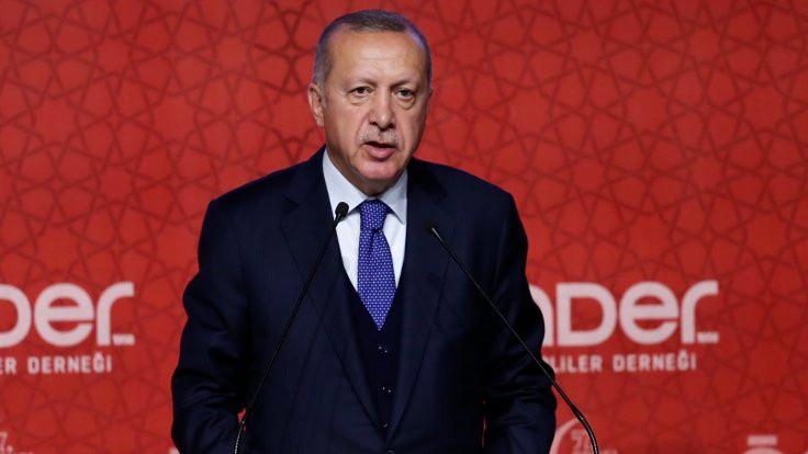 Erdoğan: Herkes savrulmaya başladı!