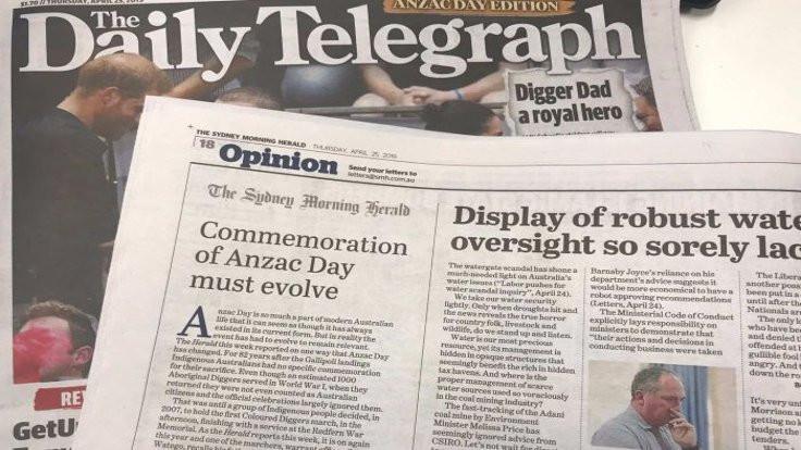 Matbaa karıştı: Sağcı gazete muhalif haber bastı