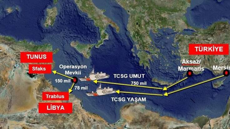Uluslararası sularda esrar baskını
