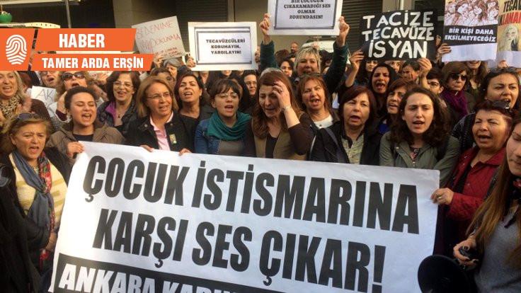 Cinsel saldırı protesto edildi