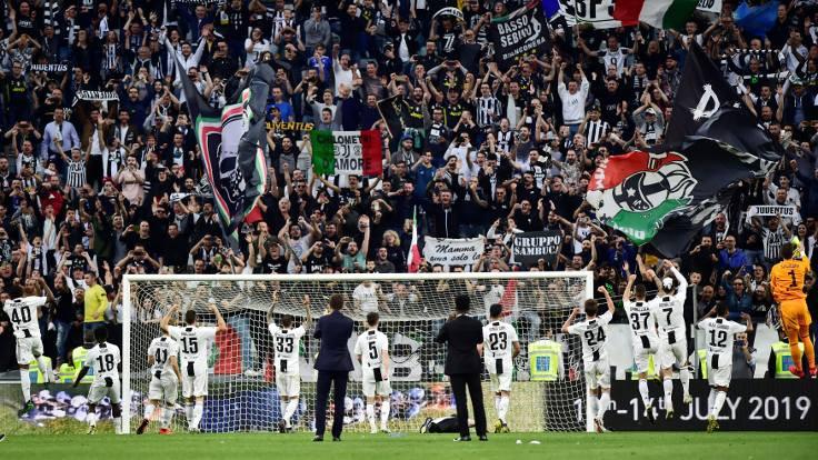 Juventus üst üste 8'inci kez şampiyon oldu