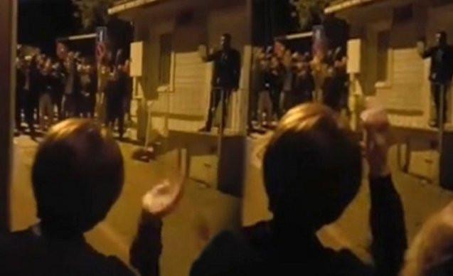 Akşener'in evinin önündeki gösteriye beraat