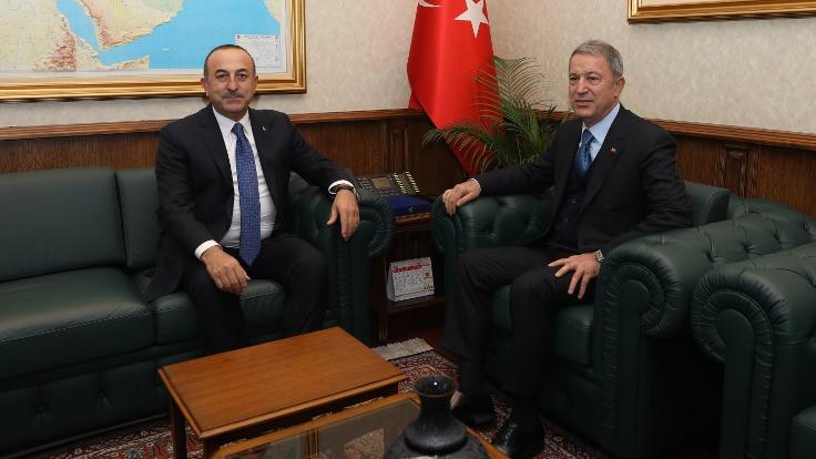 İki bakandan 'güvenlik ve dış ilişkiler' toplantısı