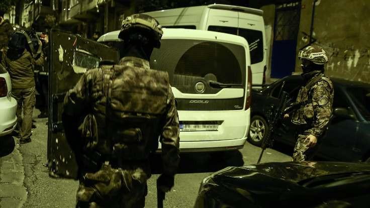 İstanbul'da 152 kişiye gözaltı