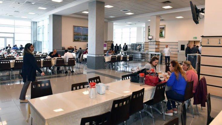Ankara Büyükşehir Belediyesi yemekhanesindeki 'ayrım' kalktı