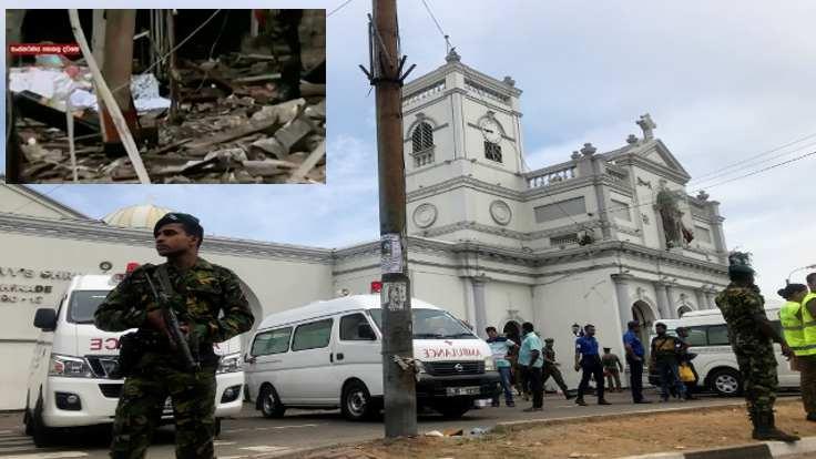 Sri Lanka'da sekiz ayrı saldırı