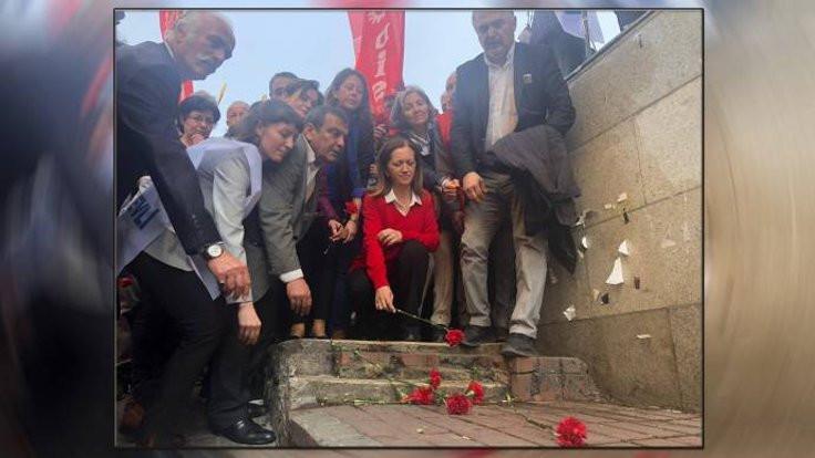 Kazancı'da anma ve 1 Mayıs'a çağrı