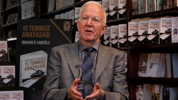 'KHK'liler oy kullanabilir'in gerekçesi Kaboğlu