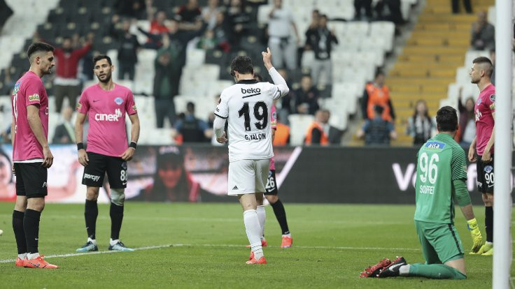 Beşiktaş, Güven Yalçın'la kazandı