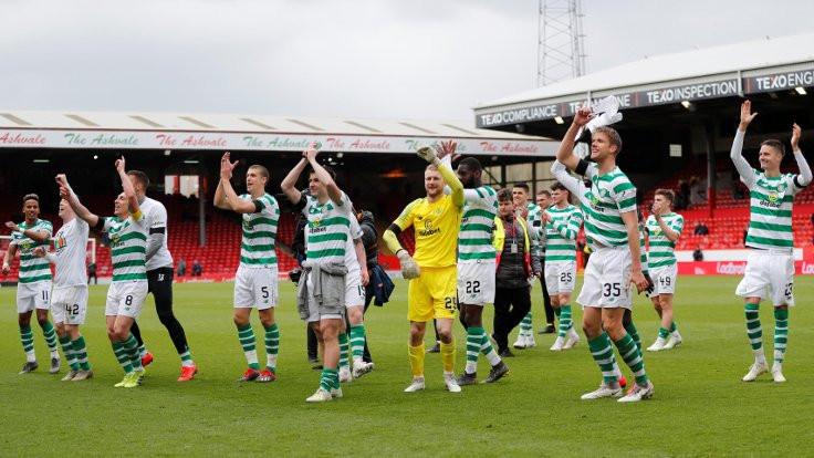 Celtic,üst üste 8'inci kez şampiyon oldu