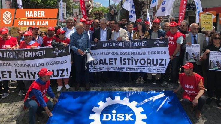 301 madenci katliamın 5'inci yılında Ankara'da anıldı