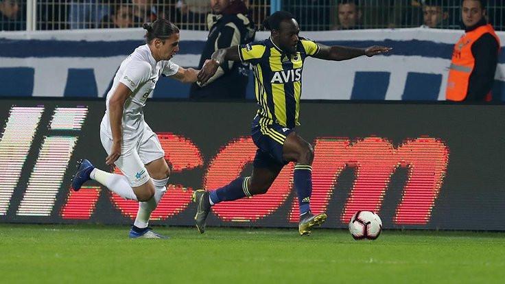 Fenerbahçe, Moses'la kazandı