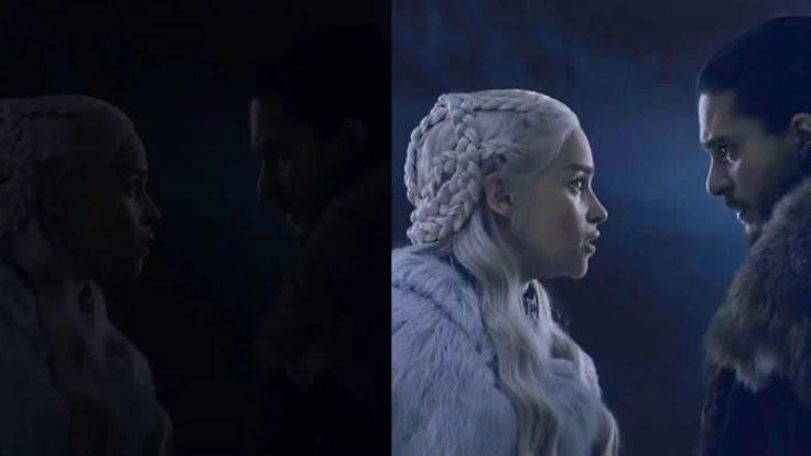 'Karanlık' Game of Thrones aydınlatıldı