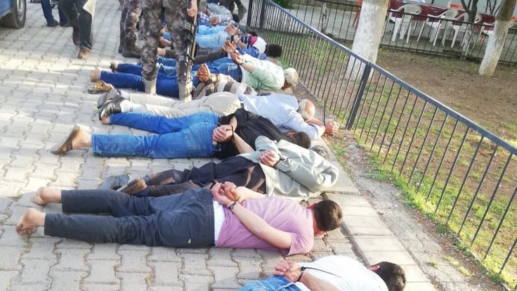 Halfeti'de karakolda işkence