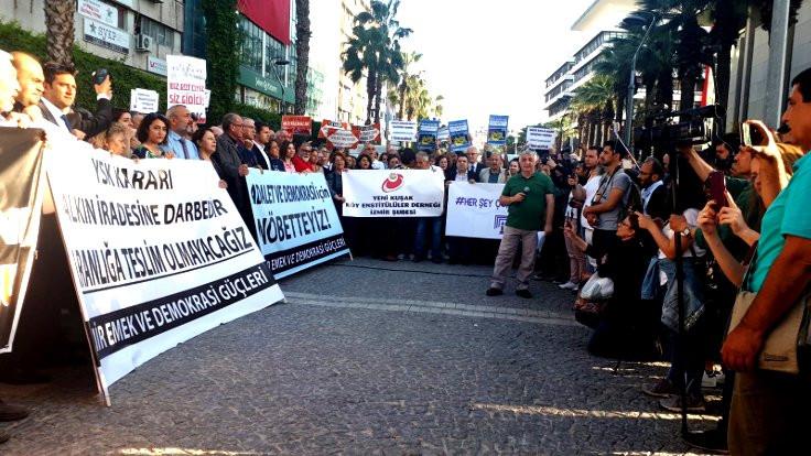 İzmir Barosu: Diren İstanbul İzmir seninle!
