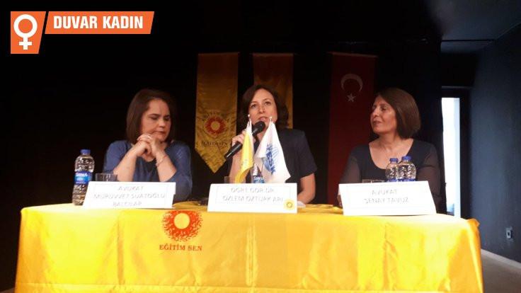 İzmir'de 'akademide taciz' tartışıldı