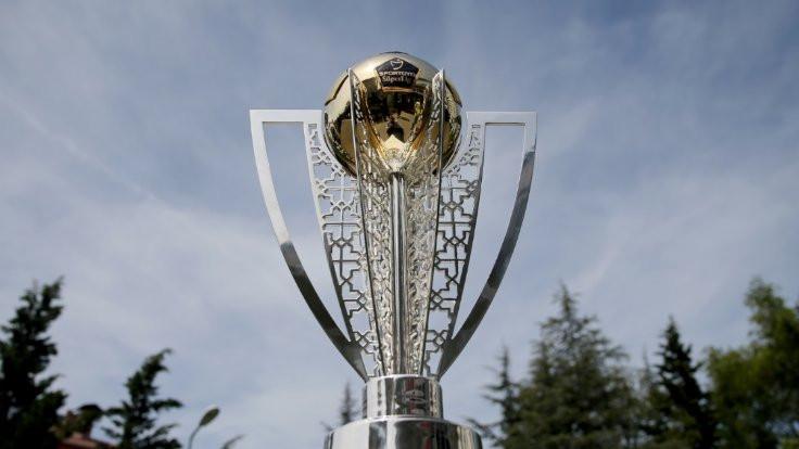 Süper Lig kupası tanıtıldı