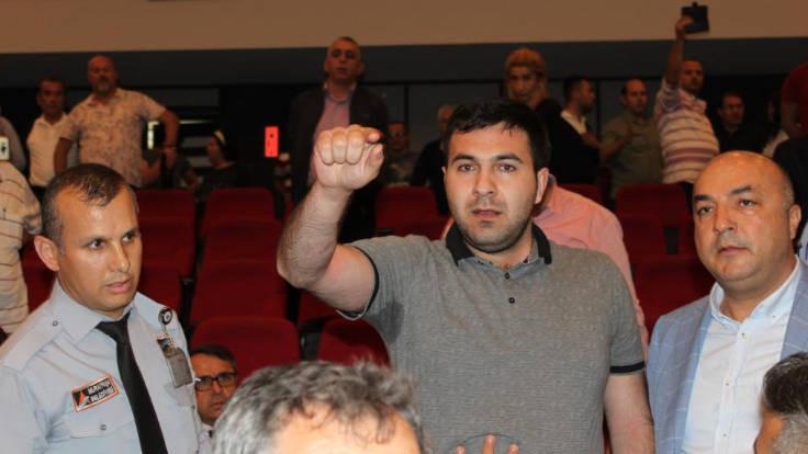 MHP'li başkandan ölüm tehdidi: Seni delik deşik edeceğim