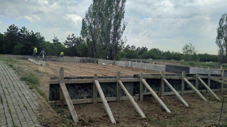 ODTÜ arazisinde 'Truva Atı KYK' inşaatı başladı