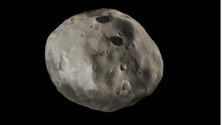 Phobos görüntülendi