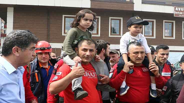 Rize'de kayıp çocuklar bulundu