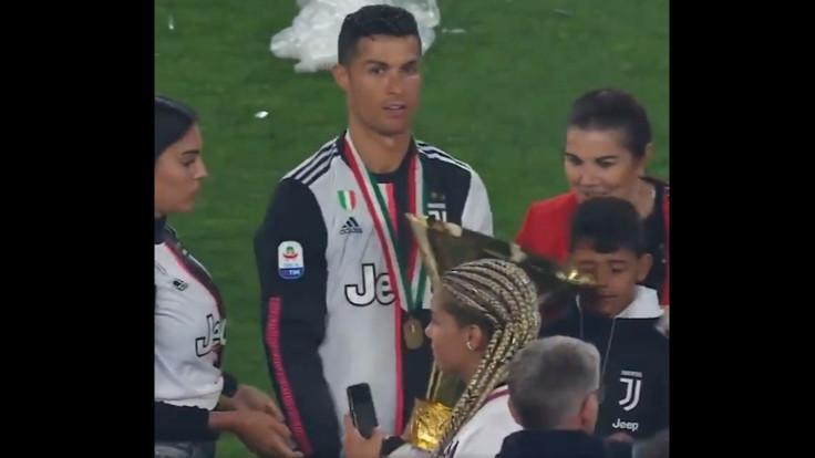 Ronaldo kupayla tehlike saçtı
