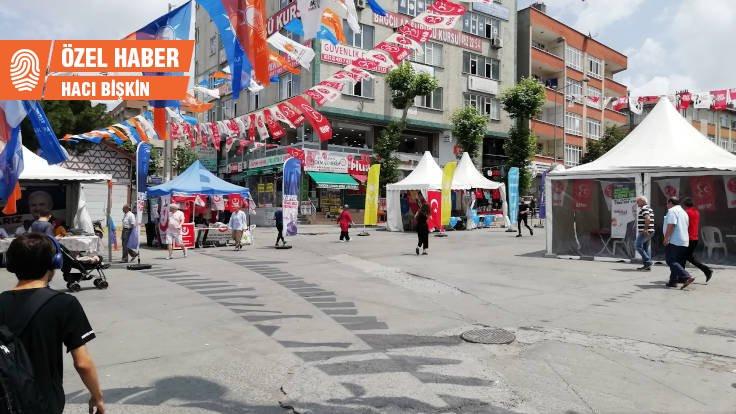 AK Parti Bağcılar'da küskün seçmenin peşinde