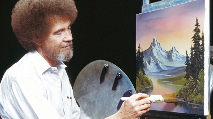Bob Ross'un resimleri yeniden ekranlarda