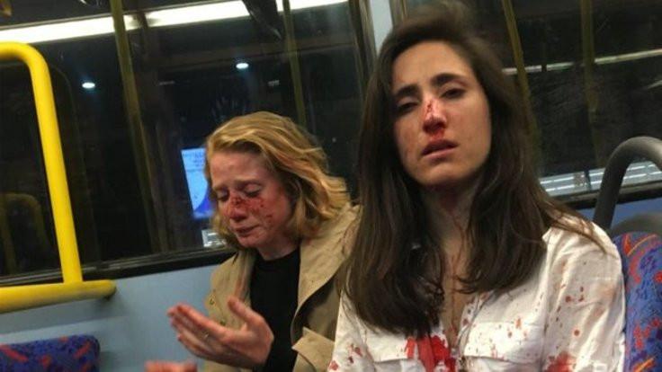 Lezbiyen çifte saldıran dört kişi gözaltında