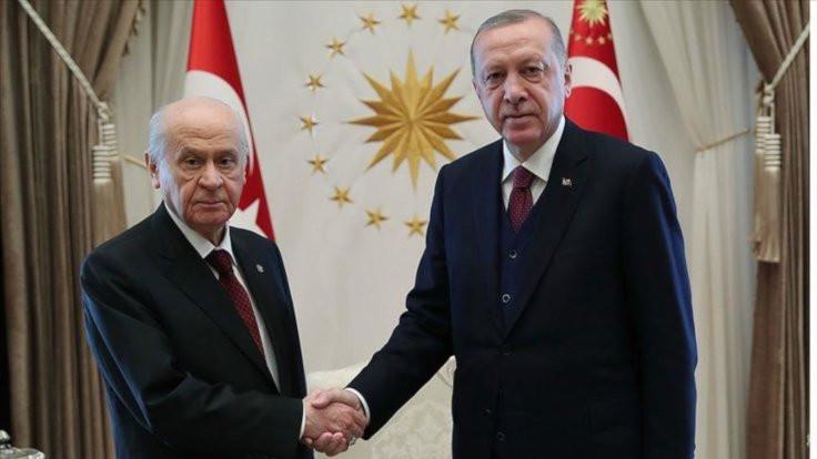 Erdoğan ve Bahçeli İstanbul'u görüştü