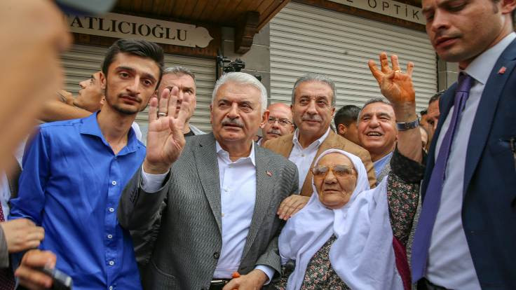 Yıldırım: Kürdistan Atatürk'ün kullandığı isim