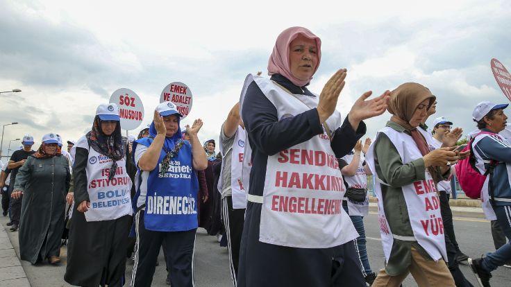 Hizmet-İş üyesi işçiler, CHP Genel Merkezi önünde açıklama yapacak