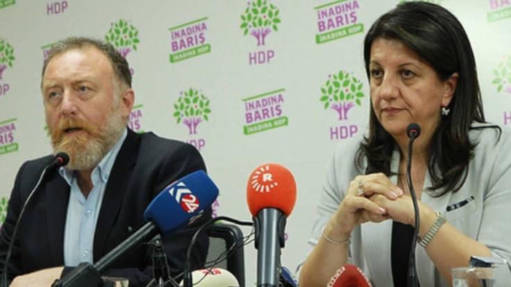 """HDP: """"hukukun üstünlüğü"""" boş bir söz"""