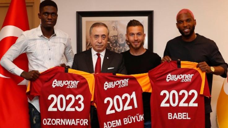 Galatasaray'dan bir günde üç transfer