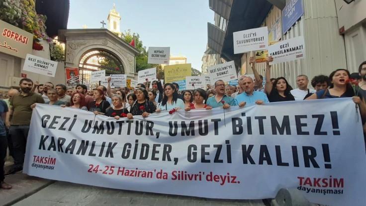 'Gezi umuttur, umut bitmez'