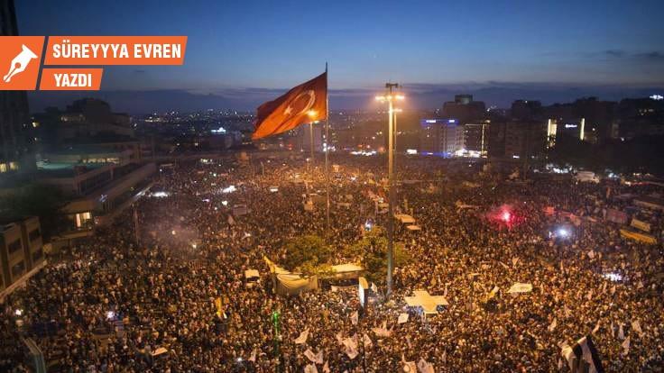 Gezi'den 23 Haziran'a (sonra gerisin geri) sek sek