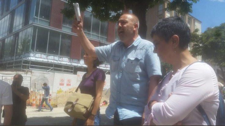 Ankara'da KHK eylemi: 5 gözaltı