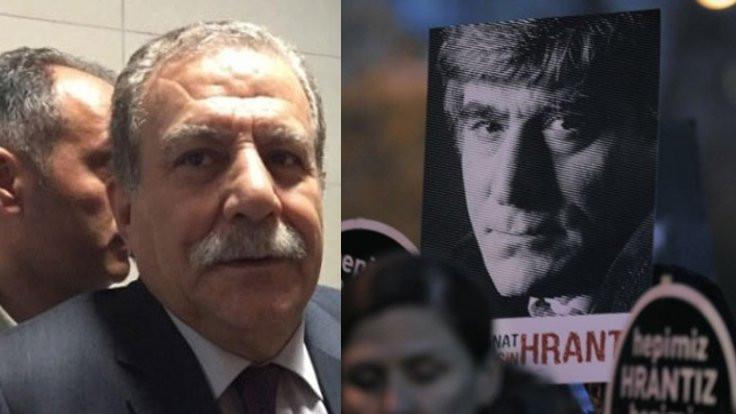 'Hrant mı kabahatli oldu şimdi?'
