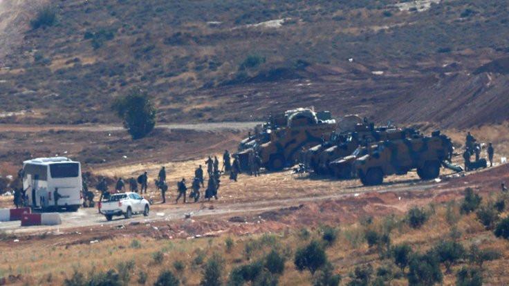 MSB: Rejim, gözlem noktasına top atışı yaptı