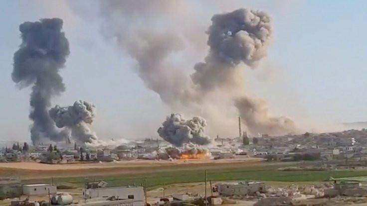 Suriye doğruladı: İdlib'de uçağımız düşürüldü
