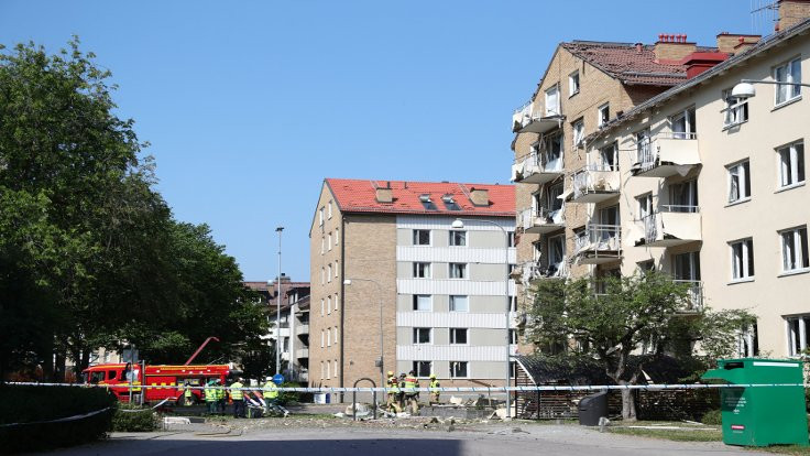 İsveç'te patlama: 25 kişi yaralandı
