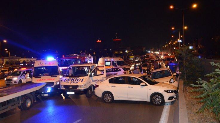 Kadıköy'de zincirleme kaza