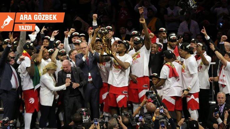 Şampiyon Toronto Raptors