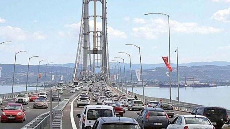 Köprü geçiş ücretine zam