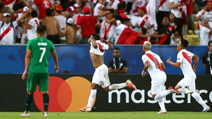 Copa Amerika'da Peru Bolivya'yı 3 golle geçti