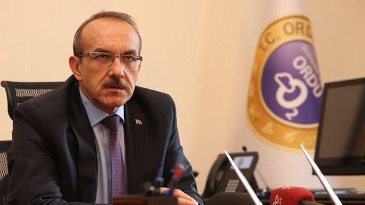 Ordu Valisi İmamoğlu'na küfür etti iddiası